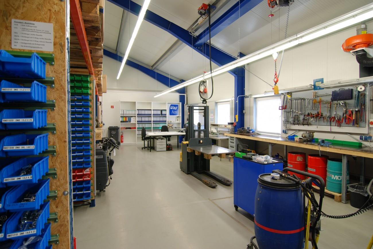 Die Werkstatt von Fachcenter Buchholz