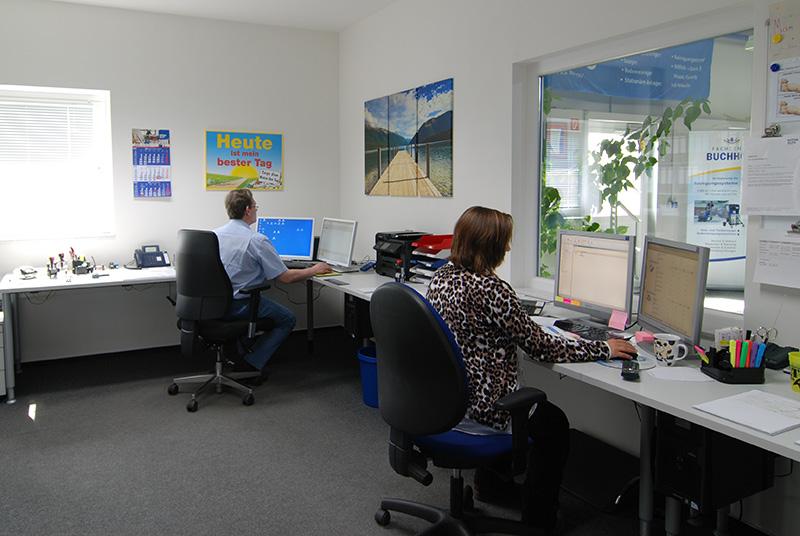 Das Büro von Fachcenter Buchholz