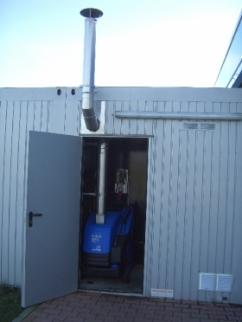 Hochdruck - Reiniger mit Abgasführung - Fachcenter Buchholz